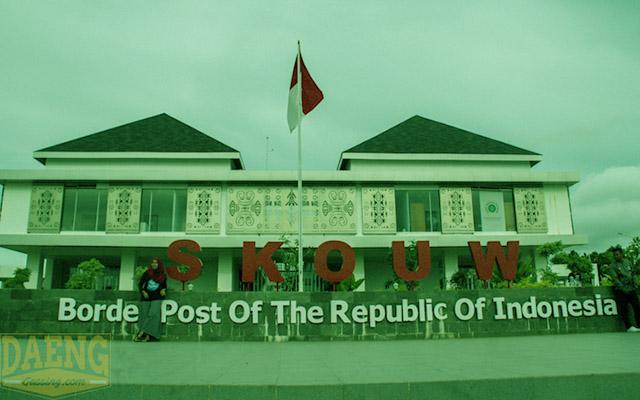 Menengok Wajah Terdepan Indonesia di Skouw