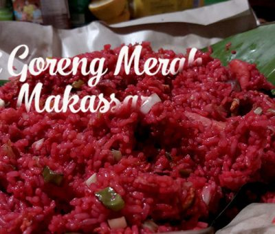 Nasi Goreng Merah Khas Makassar