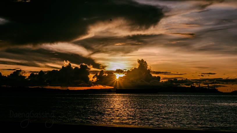 sunset sorong
