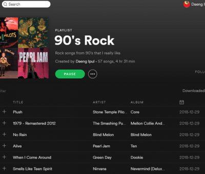Lagu Rock 90an Yang Membawa Kenangan